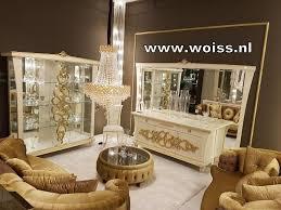 Woiss Meubels Gucci Klassieke Italiaanse Hoogglans Woonkamer
