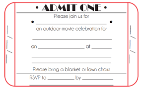 Invitation Ticket Template 100 Free Ticket Invitation Template Word Excel Formats 64