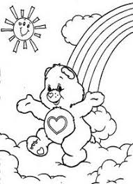 Small Picture Care Bears Coloring 010 Crafty 80s Care Bears Coloring