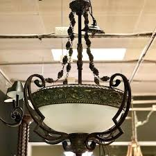 minka lavery chandelier brown consign to design tofino