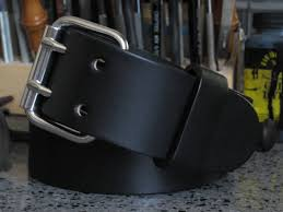 1 75 wide mens black full grain english bridle leather belt 2 g buckle double hole thick leather belt angel leather belt