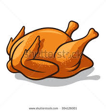 baked chicken clipart. Perfect Chicken Clipart Chicken Roast 3031122 For Baked Chicken Clipart W