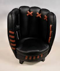 baseball glove chair and ottoman set best furniture designs