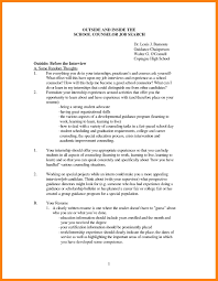 Collection Of Solutions Sample Resume Guidance Counselor