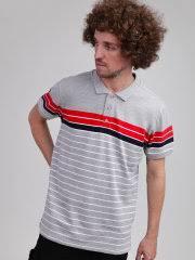 Поло Classic Stripe Polo <b>URBAN CLASSICS</b> 12452967 в интернет ...