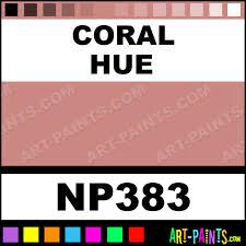 Coral Nupastel 96 Set Pastel Paints Np383 Coral Paint