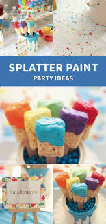 Alongwith art party ideas you have all the inspiration you need to throw  such a fun and colorful birthday ...