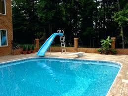 in ground pools with slides. Pool Slides For Inground Pools Affordable On Sale Swimming In Ground With