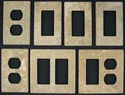 Decorative Light Switch Plates Photo Gallery Of Custom Granite Travertine Marble Stone Switch