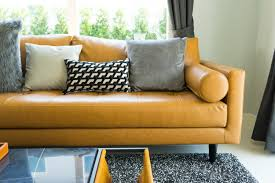 how to fill leather sofa cushions sewn to the frame home guides sf gate