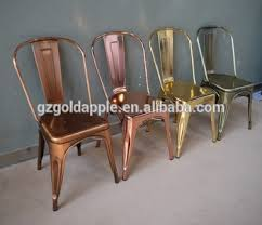 retro metal chair used for dining room furniture
