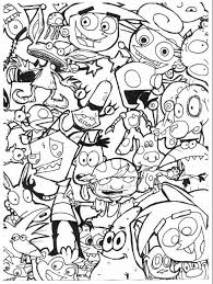 90s Cartoon Coloring Pages Google Search Cartoon Coloring