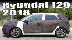 2018 hyundai i20. exellent hyundai new 2018 hyundai i20 facelift prototype in hyundai p