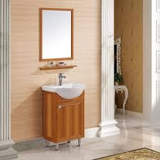 Badmöbel Set Vintage 50cm Badezimmer Badspiegel Mit Ablage