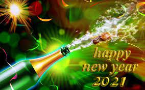 Happy New Year 2021 With Champagne ...