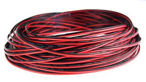 24 gauge 100 039 speaker wire audiopipe red black zip cable 24 gauge 100 speaker wire audiopipe red black zip cable copper clad 12 volt