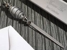 murano art deco collection letter opener 8943