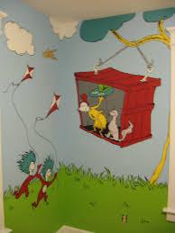dr seuss mural