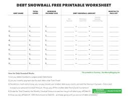 Debt Tracker Spreadsheet Snowball Worksheet Barca Fontanacountryinn Com