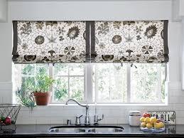 Modern Kitchen Curtains window modern window valance swag kitchen curtains valance ideas 1416 by uwakikaiketsu.us