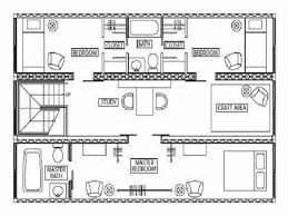 Shipping Container Floor Plans On Architecture Design Ideas With And Plan  For Homes Images