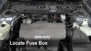 replace a fuse 1992 1999 pontiac bonneville 1997 pontiac 2004 Pontiac Vibe Fuse Layout at 98 Pontiac 3800 Fuse Box Diagram