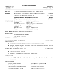 Sample Resume For Software Engineer Internship Valid Resumesor ...