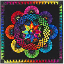 Circle Of Life Paper Pieced Quilt Pattern Be Colourful Jacqueline ... & Circle Of Life Paper Pieced Quilt Pattern Be Colourful Jacqueline de Jonge  DIY Quilting Foundation Piecing Adamdwight.com