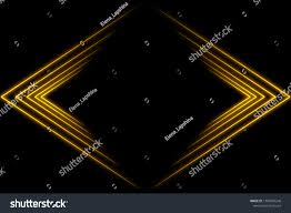 Broken Light Effect Light Perspective Abstract 3d Glow Effect Stock Illustration