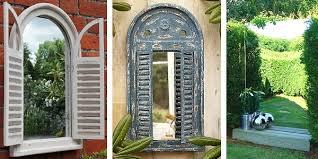 garden mirrors. Awesome Garden Wall Mirrors Alices Outdoor I