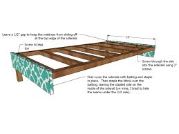 upholster side rails