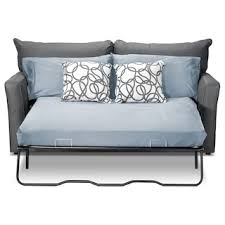 bed. Contemporary Bed Sonah Full Innerspring Sofa Bed  Grey To