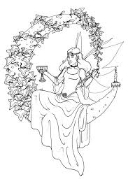 Wiccan Coloring Pages Viewing Gallery For