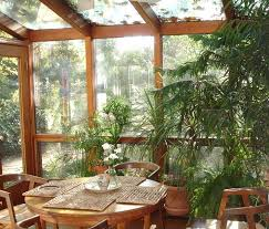 plants for sunrooms | Green plants make sunrooms pretty and soulwarming