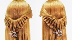 簡単なハーフアップ髪型シンプルな編み方三つ編み込みupアレンジ