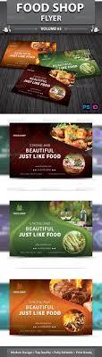 restaurant business flyer volume by dotnpix graphicriver restaurant business flyer volume 13 restaurant flyers