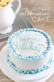 Simple Birthday Cake Icing Ideas Our Favorite Cakes Vanilla With