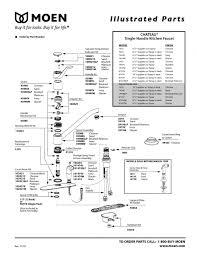 moen kitchen faucets parts beautiful moen kitchen faucets parts diagram of moen kitchen faucets parts new