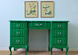 painted green furniture. Kelly Green Painted Desk After Furniture