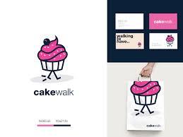 Cake Walk Cake Designs Cake Walk By Jahid Hasan Logo Designer On Dribbble