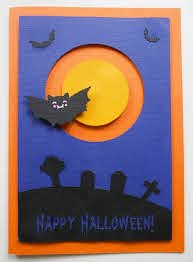 Holiday posters, banners, cards and much more, all ready to download in jpg and svg. Making A Halloween Spinner Card With Bat On The Cricut Free Svg Pdf Eps Png Dxf Craftagogo