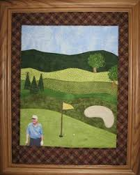 Golf Quilt pattern | crafts | Pinterest | Golf quilt, Golf and ... & Golf Quilt pattern. See More. by Sherry Paylor, Camp Hill, PA from  accidental Landscape class by Karen Eckmeier; Adamdwight.com