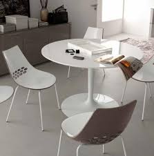 fascinating modern white round dining table 6 glass designs intended for stylish property remodel furniture