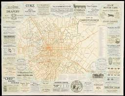 map of christchurch 1912 christchurch city libraries digital Map Of Christchurch map of christchurch map of christchurch new zealand