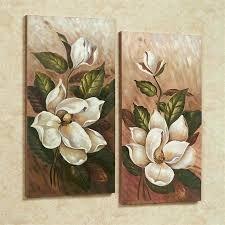 floral canvas wall art annalynn magnolia floral canvas wall art set graham brown printed canvas floral floral canvas wall art  on floral wall art australia with floral canvas wall art yellow wall art gray and yellow wall art