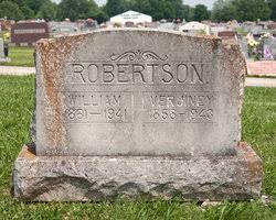 "Verjiney ""Jennie"" Robertson (1858-1943) - Find A Grave Memorial"