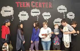 Teen center home search enter