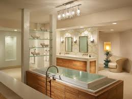 extraordinary bathroom lighting fixtures in modern bathtub completed with bathtub and double sinks coupled by mirror bathroom modern lighting