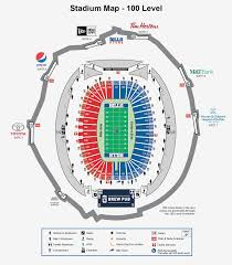 Ralph Wilson Stadium Seat Chart Ralph Wilson Stadium