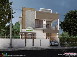 Ground And First Floor House Elevation Designs Modern Elevation With Blueprint Kerala Home Design And